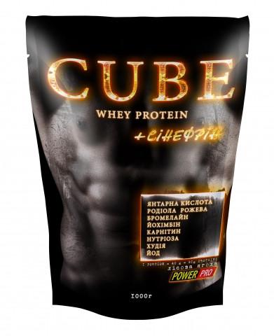 Протеин Whey Protein CUBE Power Pro 1000g