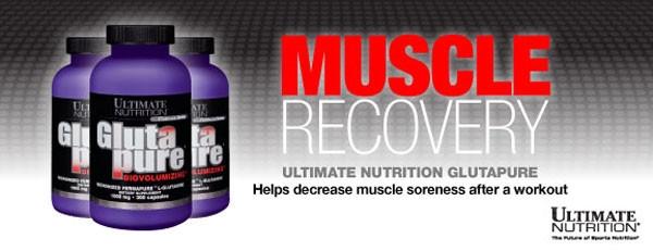 Глютамин GlutaPure Ultimate Nutrition 400 грамм