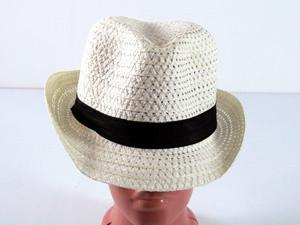 Шляпа с черной лентой Бевьер