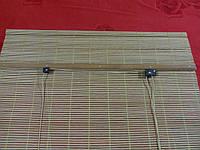 90х160 см. BRU 123, жалюзи бамбуковые, рулонные шторы.