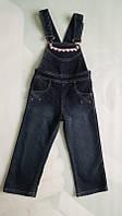 Полукомбинезон джинсовый  утепленный М-536д/2 тм Танго джинс