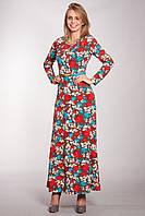 Красивое модное платье  в пол Зафира
