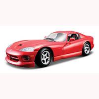 Игрушка машинка Автомодель - DODGE VIPER GTS COUPE (ассорти синий, красный 1:24)