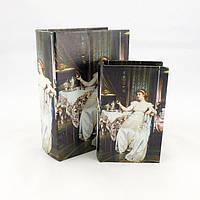 Шкатулка книга Леди в белом