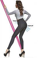 Леггинсы женские моделирующие с утяжкой Bas Bleu (штаны, брюки, лосины черные)