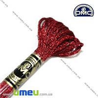 Мулине DMC Jewel E815, Темно-красный рубин, Сияние драгоценных камней, 8 м (DMC-006334)