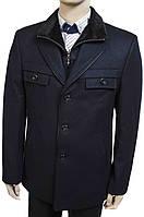 """Зимнее пальто """"Pierre Carlos"""". Темно-синее. Мужское. Турция"""