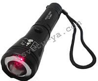 Фонарь Bailong Power Style BL-9840 Police 500 W 1400 Lm с лазерным прицелом подствольный тактический