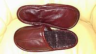 Домашняя обувь.Детские , мужские , женские кожаные тапочки-бонци