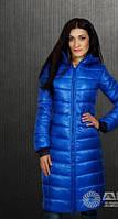Зимние куртки пуховики женские. Пуховик зима длинный (188) $ кроме 50 размера