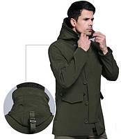 Мембранная курточка N-3B зеленая