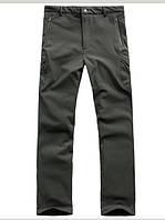 Утепленные непромокаемые мембранные брюки черные