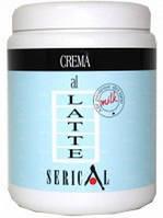 Маска-крем с молочными протеинами  1000 мл Pettenon Serical