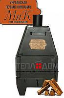Печь буржуйка ДоМиК-10 (Печь длительного горения 10 кВт до 180м3)