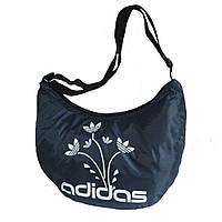 Спортивная женская сумка маленькая, темно-синяя, фото 1