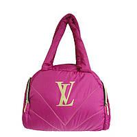 Сумка-саквояж дутая, под пуховик Louis Vuitton