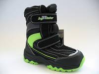 Зимние термо ботиночки для мальчиков B&G 25р.