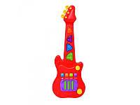 Детская гитара электронная 23725-1 Red Box