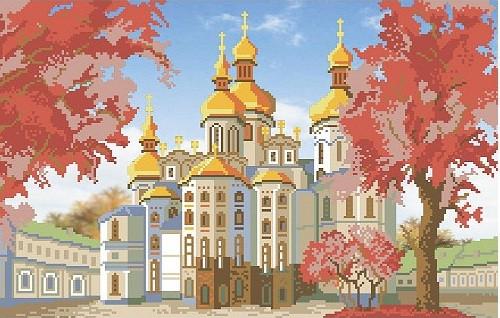 Вышивка успенского собора