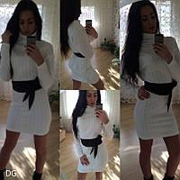 Вязаное платье дг109, фото 1