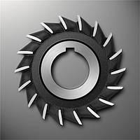Фреза дисковая 3-х сторонняя Ф100х14 Р6М5 со вст.ножами