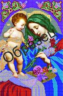 """Схема для вышивки бисером """"Пресвятая Богородица Неувядаемый цвет"""""""