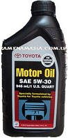 Моторное масло Toyota 5W-30, API SN, 0,946mL, Part №. 00279-1QT5W