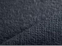 Трикотаж трехнитка черный на флисе