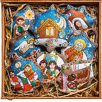 Подарок на Новый Год. Елочные игрушки. От Романа до Иордана.