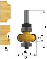 Фреза кромочная галтельная ф22.2х6, r3.2, хв.8мм (арт.10694)