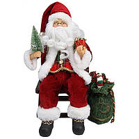 Дед Мороз на кресле-качалке Angel Gifts, 30 см