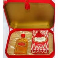 """Подарочный набор """"Красная Москва"""" (духи 42мл, мыло туалетное 150мл) в подарочной коробке с кисточкой"""