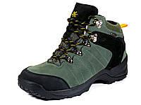 Ботинки зимние мужские серые нубук KnoWay (оригинал), фото 1