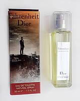 Мини-парфюм Christian Dior Fahrenheit (Кристиан Диор Фаренгейт) 50 мл.