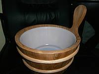 Ведро кедр для ароматов в сауну на 4 л