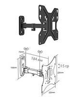 Brateck LDA11221 - поворотно-наклонное крепление для телевизора, фото 1