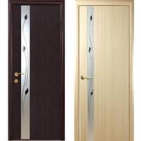 Межкомнатные двери Злата с рисунком ПВХ