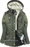 Куртка парка женская зима