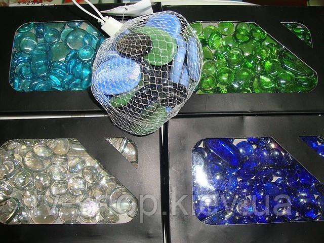 Стеклянные камушки своими руками