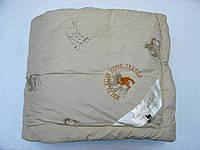 Одеяло, полуторное, верблюжья шерсть, теплое