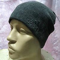 Спортивная вязанная шапка Адидас