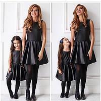 Женское и детское платье теплое стеганное с пропиткой (продаются отдельно)