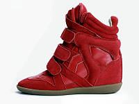 Кроссовки Isabel marant Original (красные), сникерсы