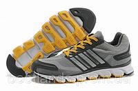 Стильные  кроссовки Adidas ClimaCool 2014 (серый с желтым)