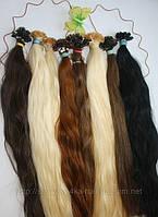 Славянские волосы на кератиновой капсуле