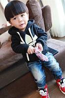 Детская синяя толстовка Adidas (реплика)