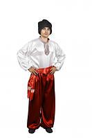 Украинский мужской национальный костюм (красный)