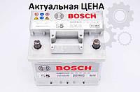 Аккумулятор Bosch S5 52 Ah 0092S50010 Пусковой ток 520 A, Правый +, Размеры на картинке