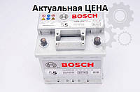 Аккумулятор Bosch S5 54 Ah 0092S50020 Пусковой ток 530 A, Правый +, Размеры на картинке