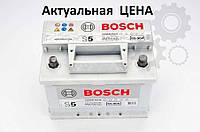 Аккумулятор Bosch S5 61 Ah 0092S50040 Пусковой ток 600 A, Правый +, Размеры на картинке